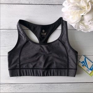 NWT Old Navy Active • Grey compression sports bra